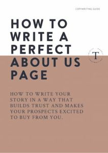 Guide to writing a perfect About Us page